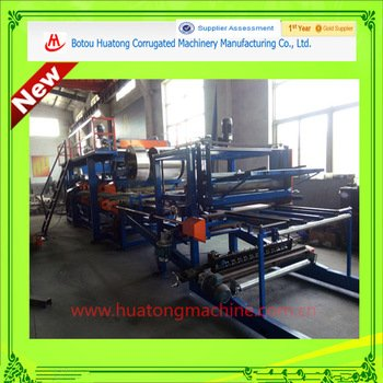 EPS and Rock Wool colored steel sandwich roll forming machine line