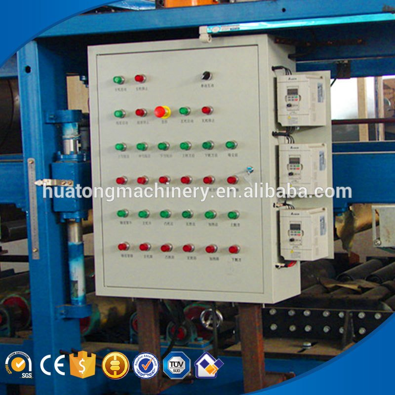 950 wall used sandwich panel production line