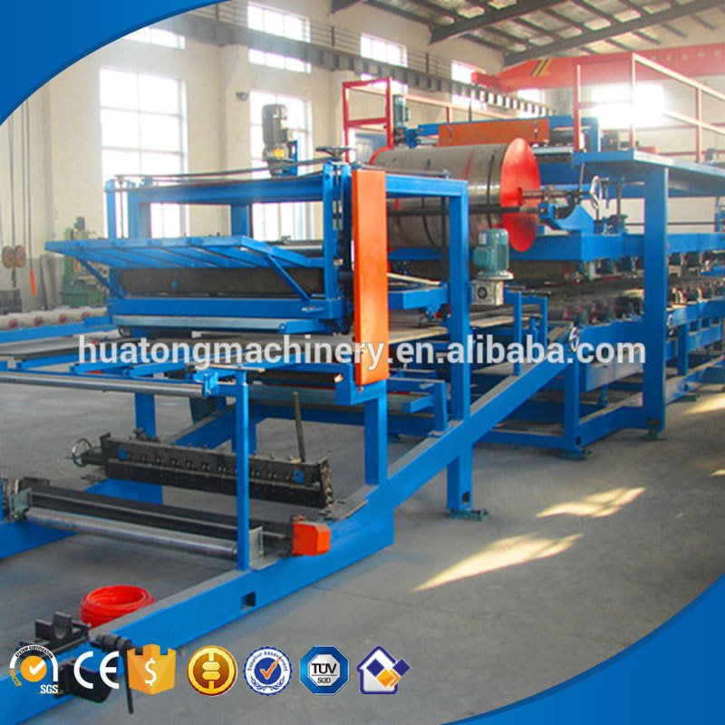 High quality insulation compsite sanwich panel production line