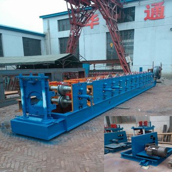 Zee purline roll forming machine for building frame