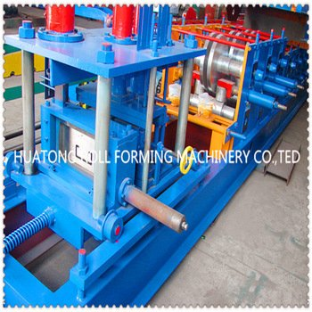 hydraulic color steel c z w purlin roll forming machine