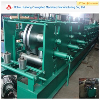 C &U purline roll forming machine