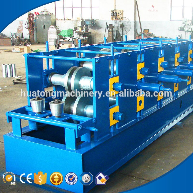 Building frame cz purlin roll forming machine