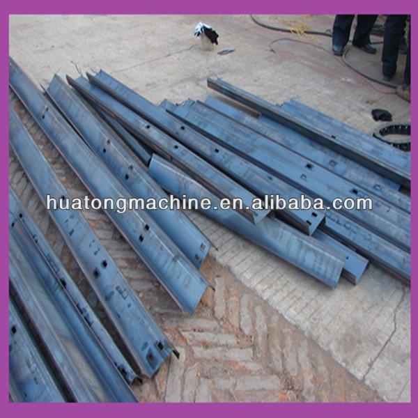 Galvanized steel C/U/Z purlin roll forming mahcine