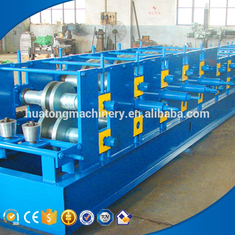 Building frame c channel forming machine