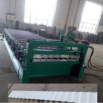 C20 steel metal wall / roof panel roll forming machine