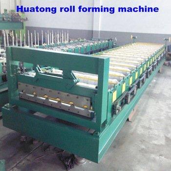 Color steel metal roof tile making machine