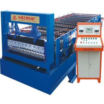 HT 18-76-988 full automatic tile roof roll forming machine