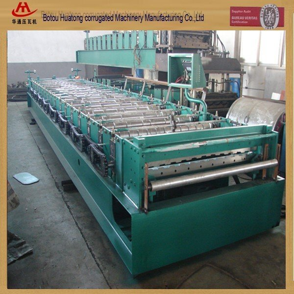 Building color steel wall tile making machinery popular in Europe