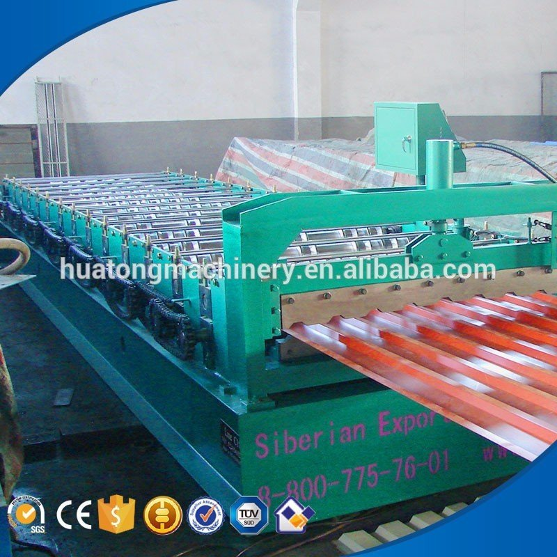 High quality HT-940 aluminum roll forming machine