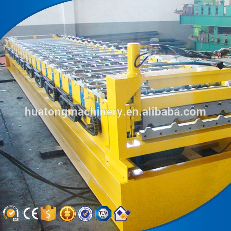 Good quality metal tile roof machine