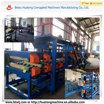 Fully automatic multifunctional EPS and Rock Wool colored steel sandwich roll forming machine