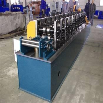 hydraulic C purline metal sheet roof roll building machine