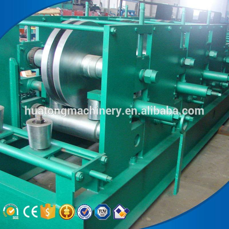 Automatic c &z interchangeable roll forming machine