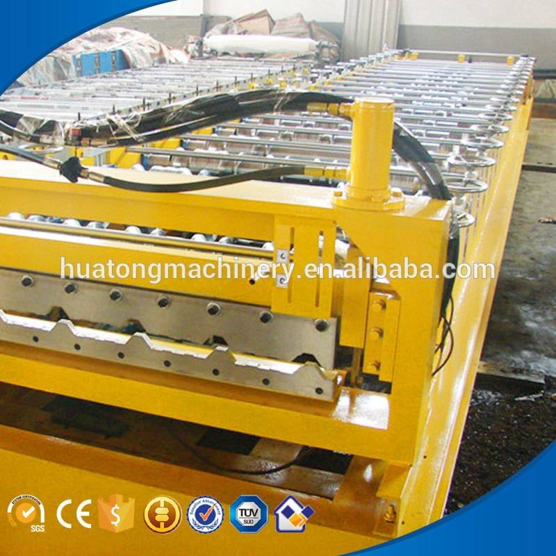High speed metal tile roll forming machine