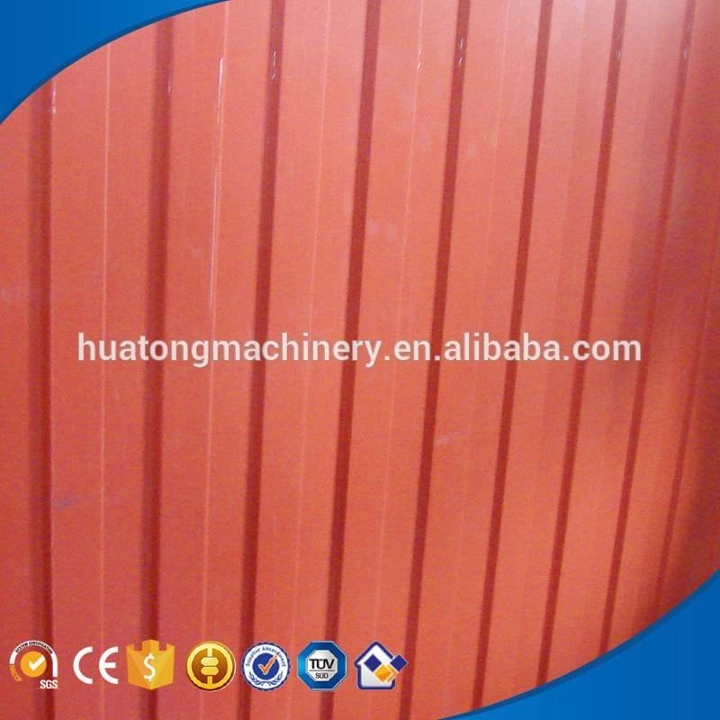 High speed rollforming machine roof tile equipment