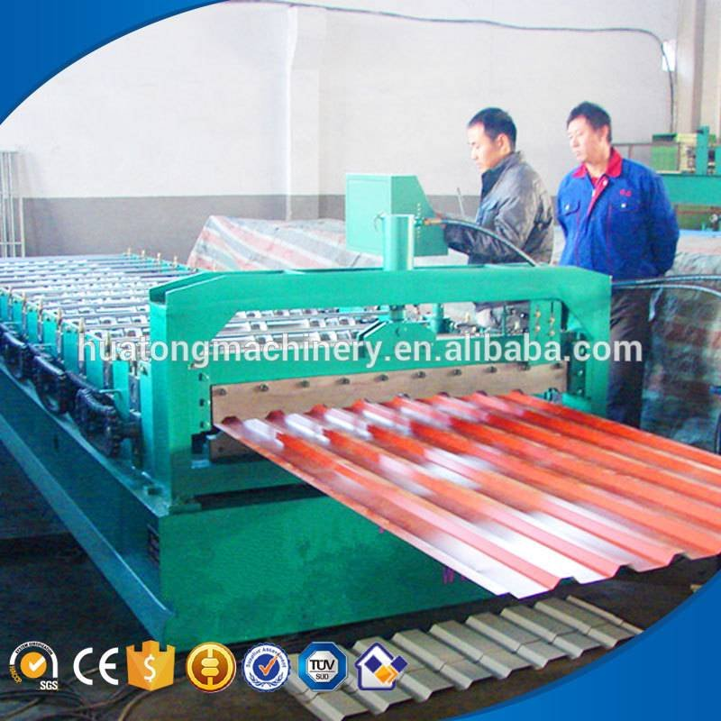 HT-860 color steel metal roofing machines for sale