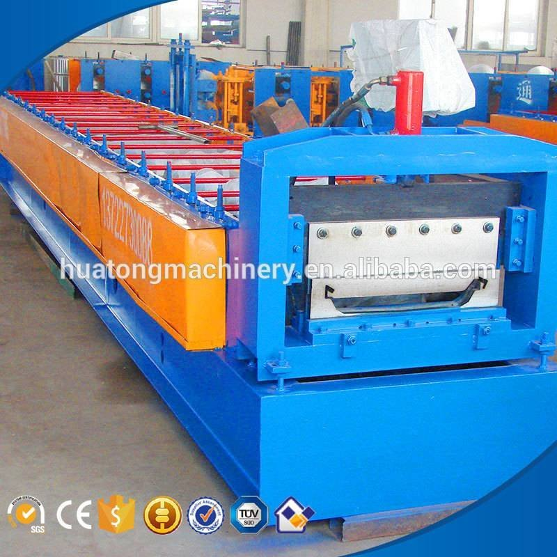 HT-840 color steel standing seam metal roof machine equipment