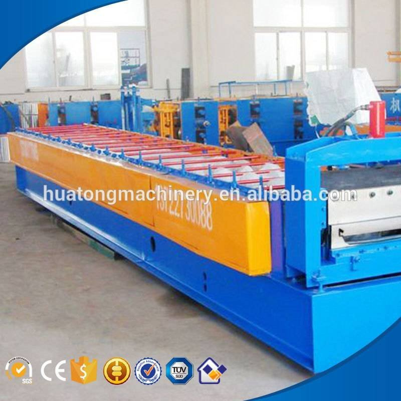 HT-900 color steel roof tile making machine